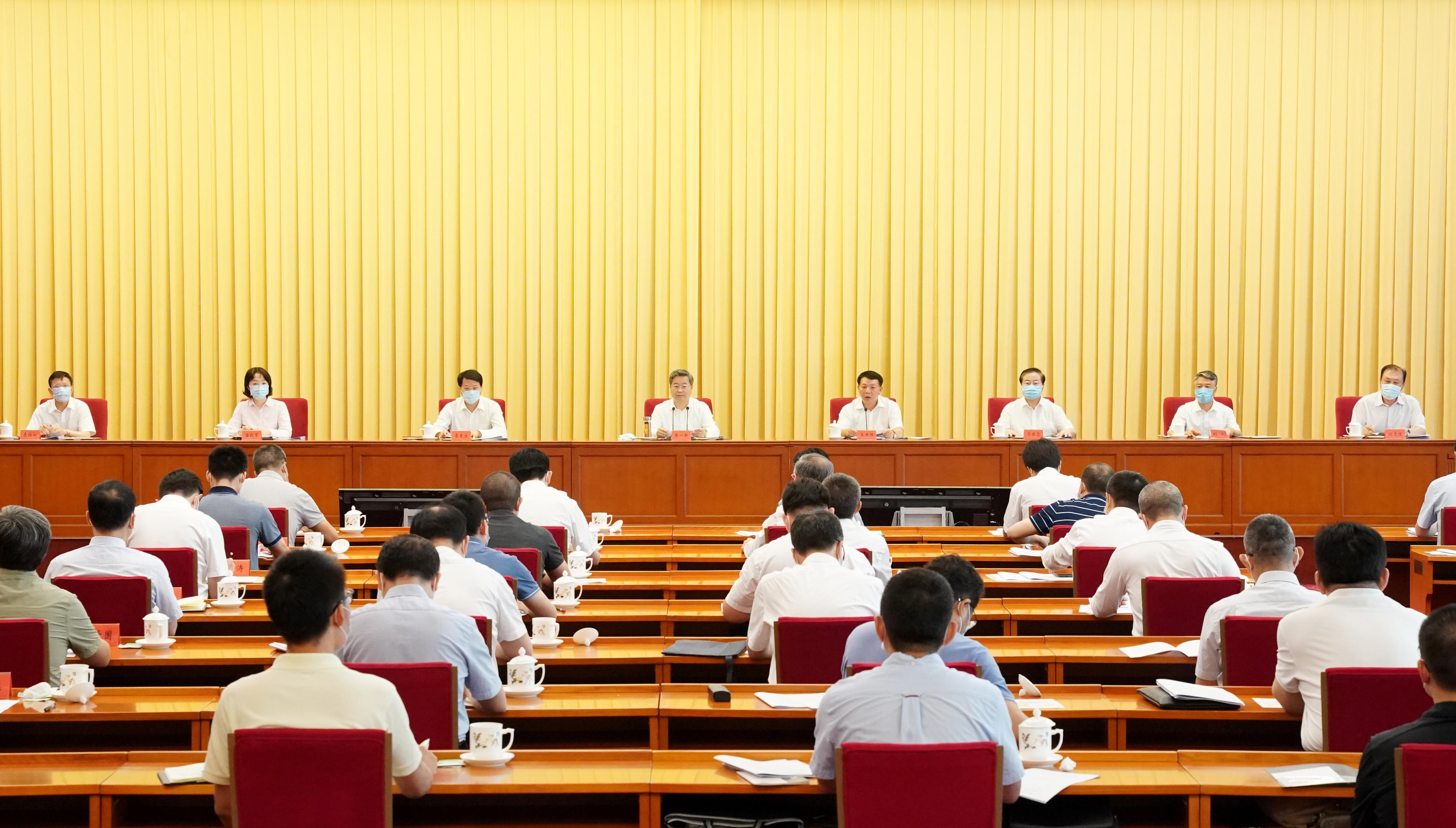 陈一新:扎实开展全国政法队伍教育整顿...