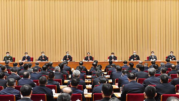 郭声琨:奋力推动政法工作高质量发展